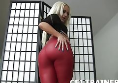 Do as I tell you and eat your own cum CEI