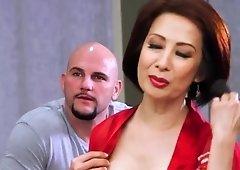 Mature Asian Kim Ahn Fucks Big Cock