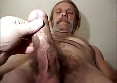 Cumshot Dirty hairy