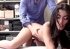 Sophia Leone gets punished by fucking for shop lifting