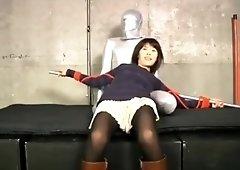 japanese cute girl tickling XX14