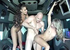 Esmi Lee and Kiara Knight working magic in the sex van