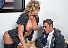 Naughty MILF Teacher Brandi Love Display Her Knock..