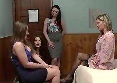 Dani Having Her First Lesbian Sex