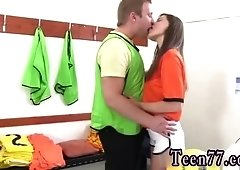Teen party hook up and rough anal bondage Dutch football player