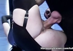 Incredible pornstar Tiffany Doll in Hottest Threesomes, BDSM sex video