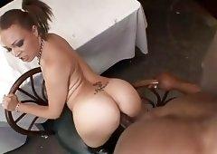 anal deep takes Ebony