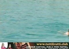 Monica FKK nude beach fisting