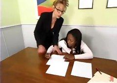 Janay, Karina Ballerina (Angel) and Andrea Renee in Whippedass Video
