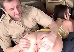 Sophie Dee is about to cum
