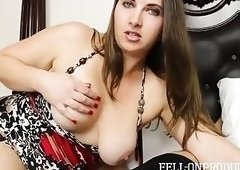 Chubby gal with big jugs Madisin Lee rides a dick