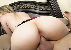 Riley Reynolds has a solid body and she loves getting fucked from behind