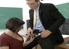 Brooke Adams is acting in dick sucking porno action